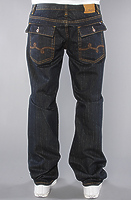 Джинсы LRG The Cultivators True Straight Fit Jean in Dark Indigo Wash -50%