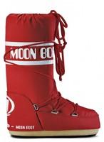 Зимние сапоги, мунбуты Tecnica Moon Boot Nylon red