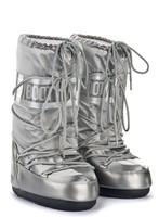 Зимние сапоги, мунбуты Tecnica Moon Boot Glance silver
