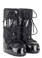 Зимние сапоги, детские мунбуты Tecnica Moon Boot Glance black junior