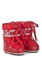 Зимние сапоги, детские мунбуты Tecnica Moon Boot Nylon red junior -30%