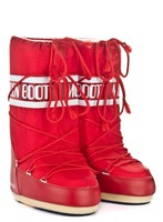 Зимние сапоги, мунбуты Tecnica Moon Boot Nylon red -30%
