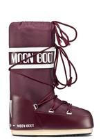Зимние детские сапоги, мунбуты Tecnica Moon Boot Nylon junior burgundy