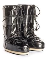 Зимние сапоги, мунбуты Tecnica Moon Boot Vinil Met black