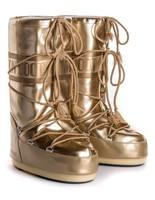 Зимние сапоги, детские мунбуты Tecnica Moon Boot Vinil Met gold junior