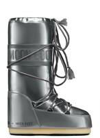 Зимние сапоги, детские мунбуты Tecnica Moon Boot Vinil Met silver junior