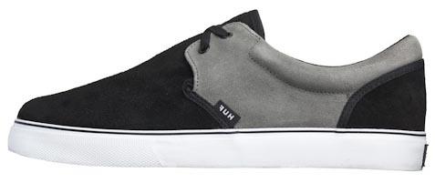 Кеды HUF Genuine black grey -50%