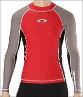 Лайкра Oakley L/S Pressure 2.8 Rashguard red