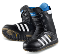 Сноубордические ботинки Adidas Samba black white -30%