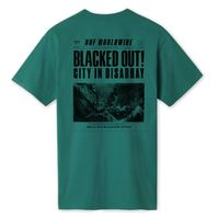 Футболка HUF SP19 Blacked out tee deep jungle