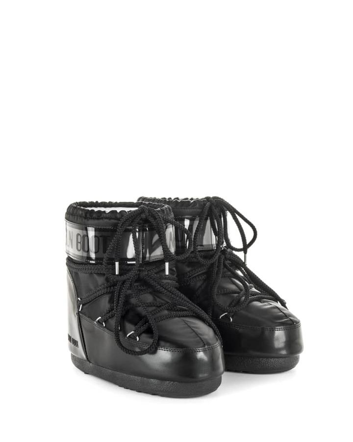 Низкие мунбуты Tecnica Moon Boot Classic low glance black