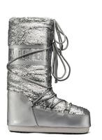 Зимние сапоги, мунбуты Tecnica Moon Boot Classic plus disco silver
