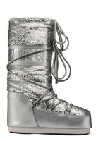 Зимние сапоги, мунбуты Tecnica Moon Boot Classic plus disco silver -30%