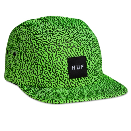 Кепка HUF Memphis box Volley lime -50%