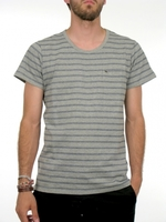 Футболка Obey Webb heather grey -50%