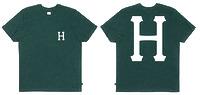 Футболка HUF  Classic H pocket tee jade -50%