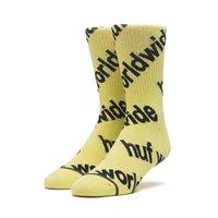 Носки HUF HO19  Campaign sock blazing yellow