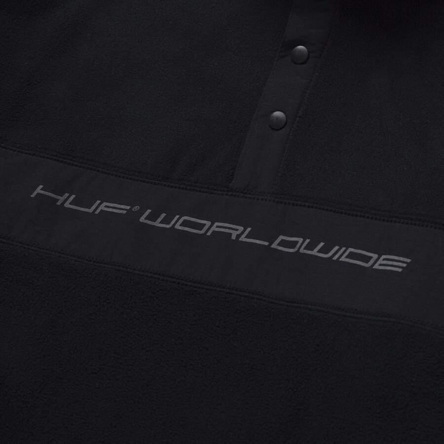 Флис HUF FA21 Cascade polar fleece black
