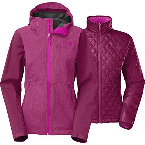 Женская куртка The North Face thermoball triclimate jacket plum -50%