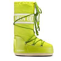 Зимние сапоги, детские мунбуты Tecnica Moon Boot Nylon lime junior -30%
