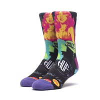 Носки HUF HO19 Comic sock black