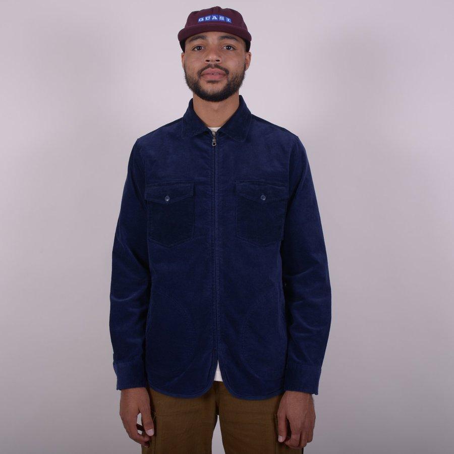 Вельветовая куртка Quasi Corduroy shirt jacket navy