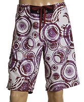 Бордшорты Gotcha Orb Printed Boardshorts berry -40%