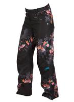 Женские брюки Volkl Nanga pants black print -70%
