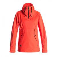 Женская куртка DC Skyline fiery coral -50%