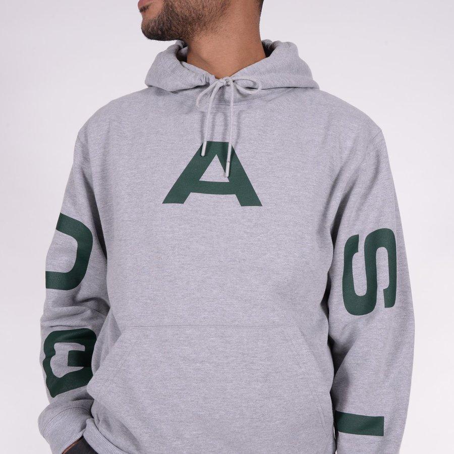 Худи Quasi HOQ19 Pace hood sweatshirt grey heather -30%