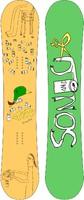 Сноуборд Dinosaurs will die Brewster 152, 155см