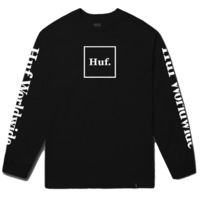 Лонгслив HUF FA18 Domestic ls tee black