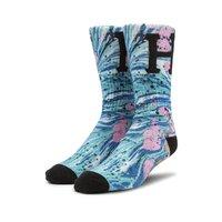 Носки HUF SU20 Drip digital sock pacific blue