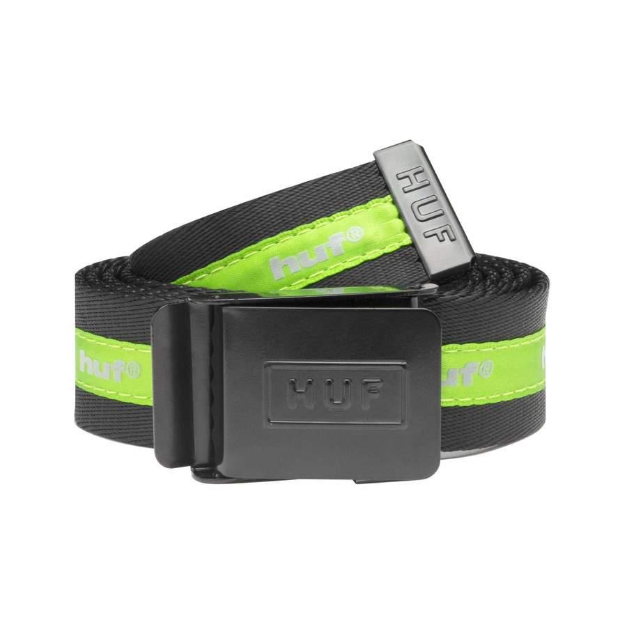 Ремень HUF FA20 Easy scout belt black green