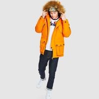 Куртка Ellesse Q3F19 Blizzard parka jacket orange -40%