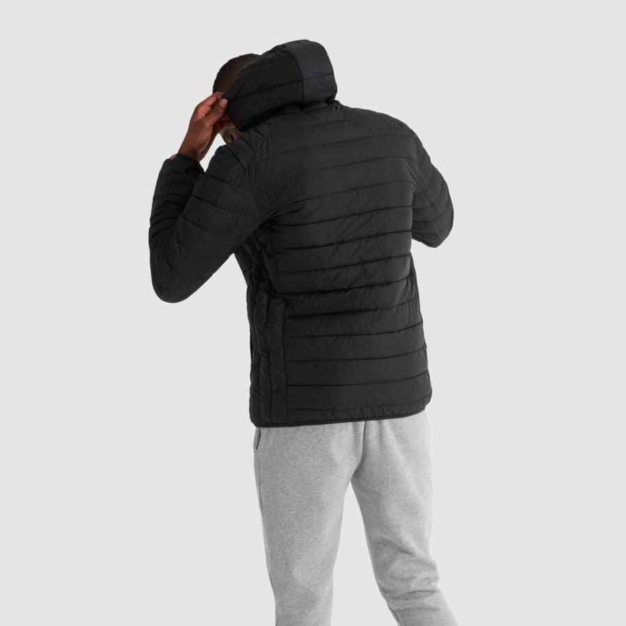 Куртка пуховик Ellesse Q3FA21 Lombardy Padded jacket anthracite