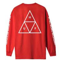 Лонгслив HUF SP21 Triple triangle ls tee red