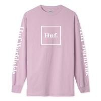 Лонгслив HUF SP20 Domestic ls tee coral pink
