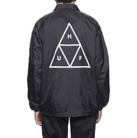 Куртка HUF FA19 Triple Triangle coaches jacket black