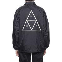 Куртка HUF FA18 Triple Triangle coaches jacket black