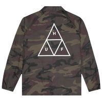 Куртка HUF SU19 Triple Triangle coaches jacket woodland -30%