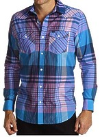 Рубашка Hurley Costanza Long Sleeve Woven Shirt -60%