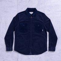 Вельветовая куртка Quasi Corduroy shirt jacket navy -40%