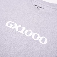 Футболка GX1000 OG Logo heather grey