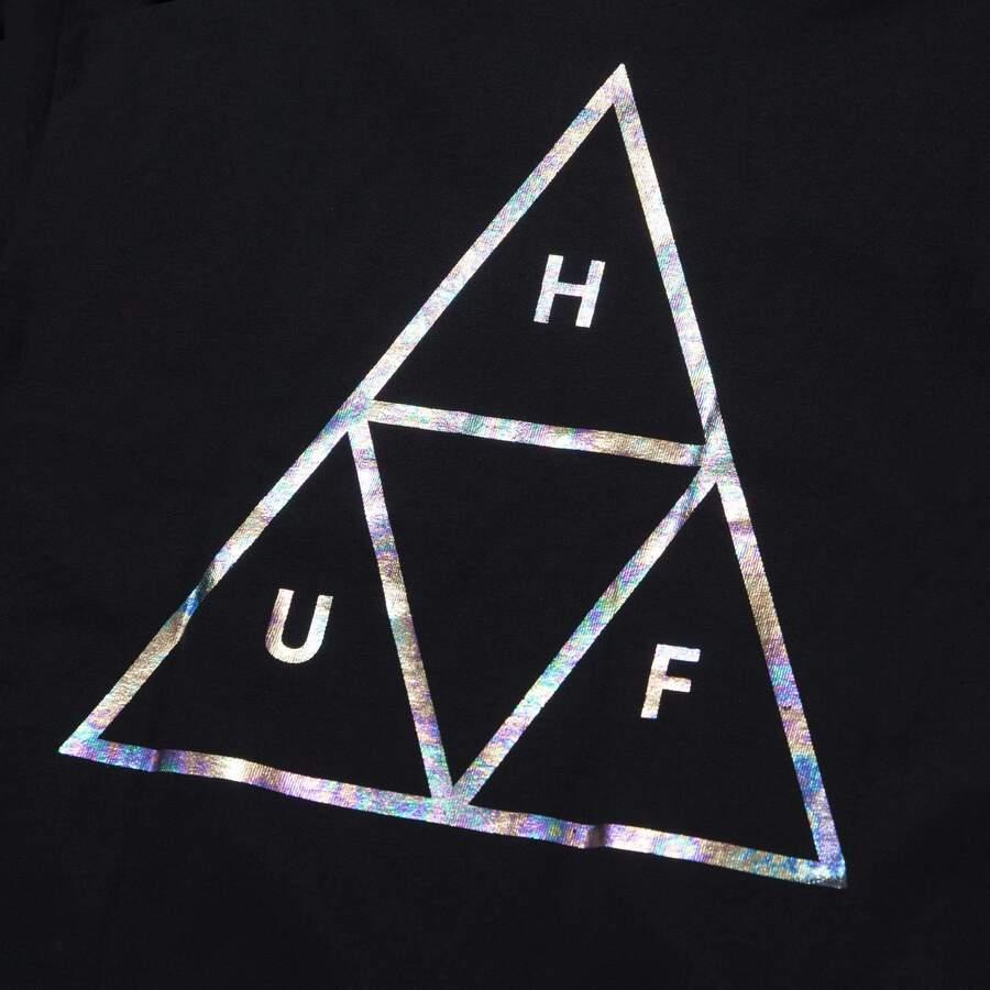 Футболка HUF SU21 Holoshine foil TT black