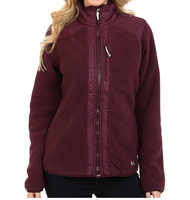 Женская флисовая кофта Under Armour Taunen Fleece Jacket ox blood -60%