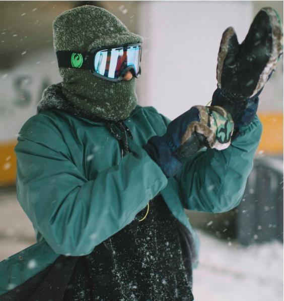 Сноубордические варежки Howl x Vans Mitt black