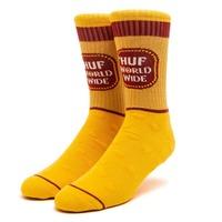 Носки HUF SP21 Brown bag sock yellow