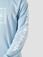 Лонгслив HUF SP21 Domestic ls light blue
