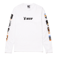 Лонгслив HUF Playboy Club Int white